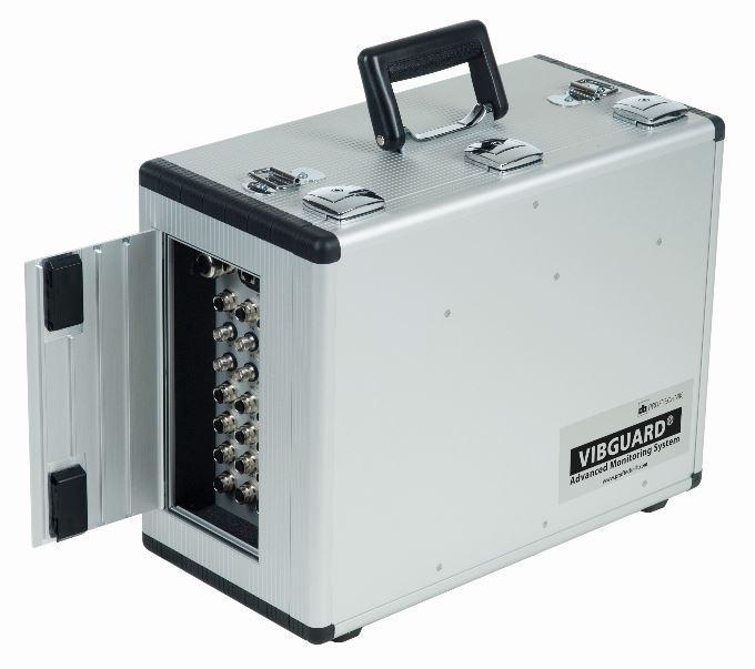 Portable Vibration Amp Balancing Shoreline Reliability